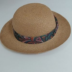 Vintage Preppy straw hat Republic of China